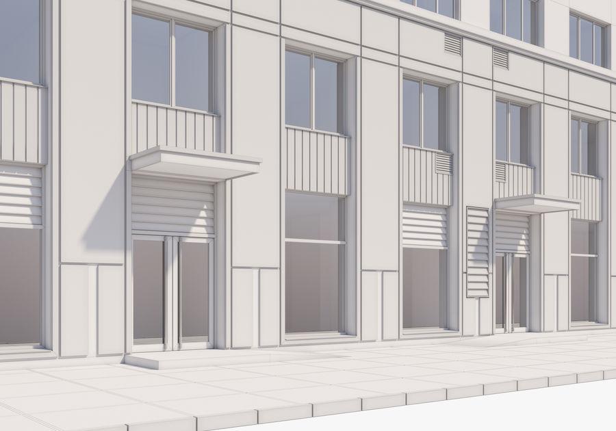 Edificio alto royalty-free modelo 3d - Preview no. 20