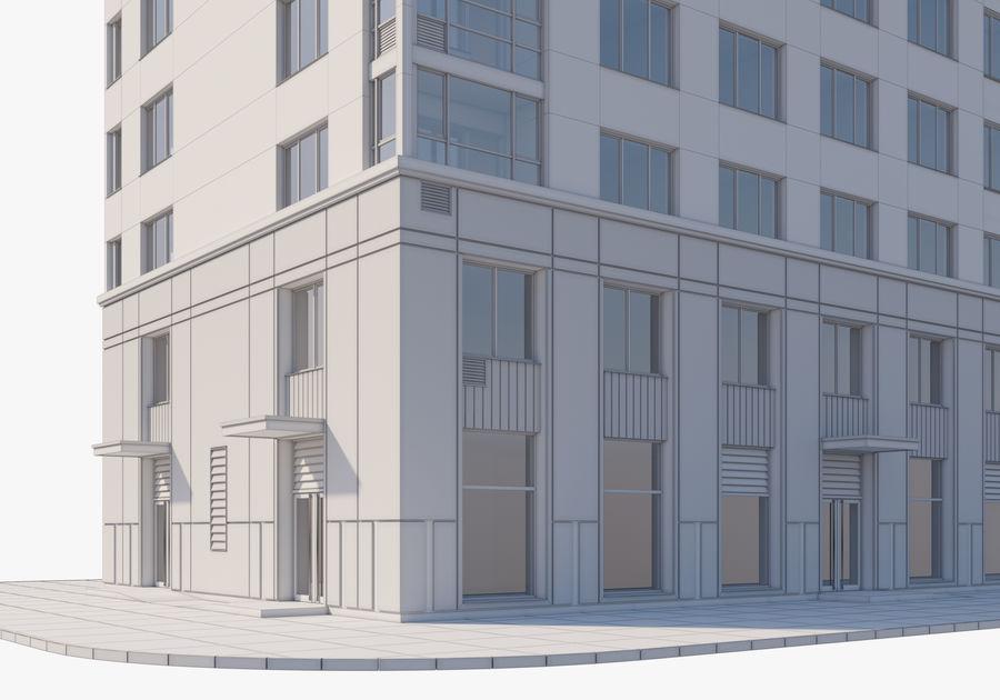 Edificio alto royalty-free modelo 3d - Preview no. 21