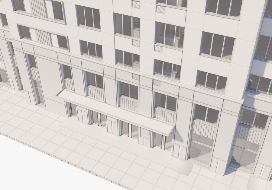 Edificio alto royalty-free modelo 3d - Preview no. 26