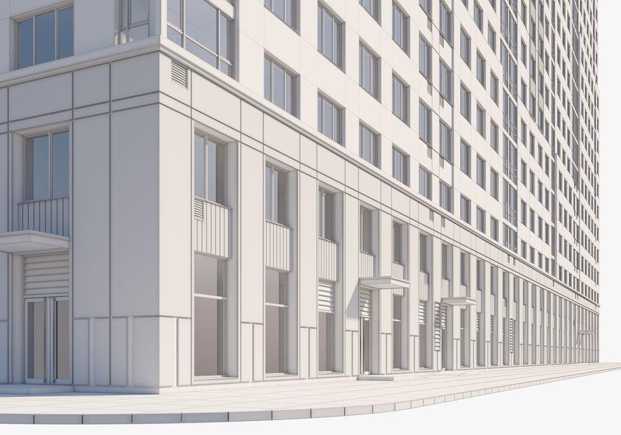 Edificio alto royalty-free modelo 3d - Preview no. 15