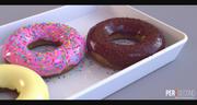 Пончики пончик 3d model