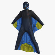 Wingsuit PBR (1) 3d model