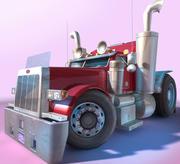 CARTOON Truck - ALGEMEEN - 3d model