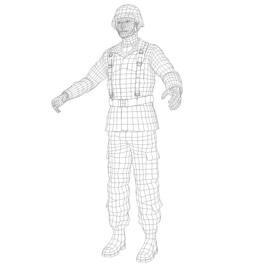 Asker JGSDF royalty-free 3d model - Preview no. 13