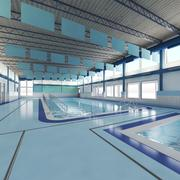 ADA zwembad 3d model