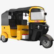 Желтый и черный 3d model