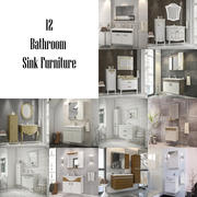 Bathroom Furniture - Sink Vol_1 3d model