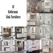 Bathroom Furniture - Sink Vol_3 3d model