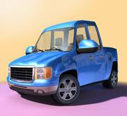 CARTOON Truck / Pickup - ALGEMEEN 3d model