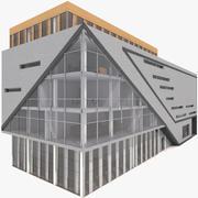 Zeitgenössisches Bürogebäude 3d model