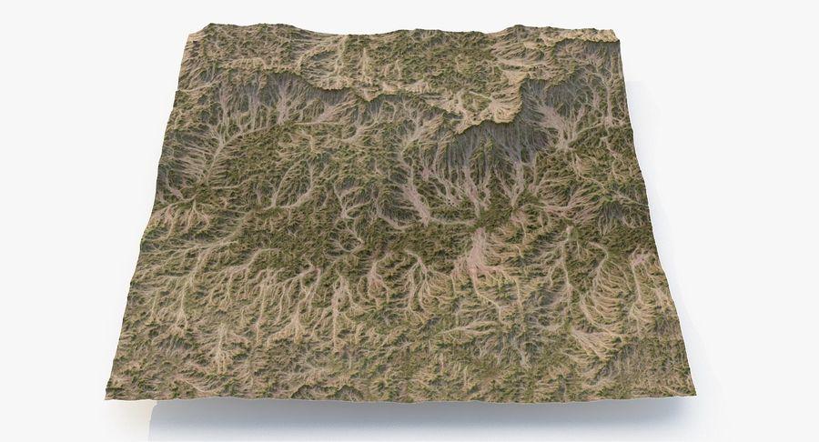 Grassy Terrain 2 royalty-free 3d model - Preview no. 12