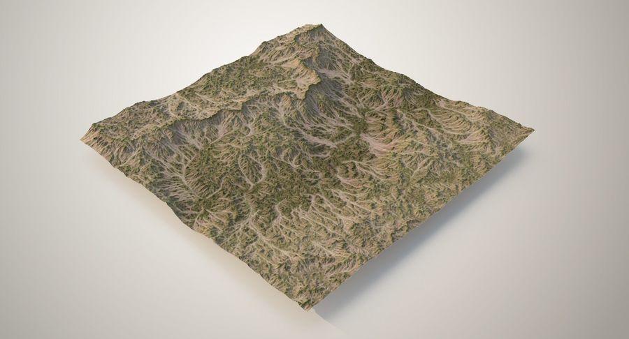 Grassy Terrain 2 royalty-free 3d model - Preview no. 2