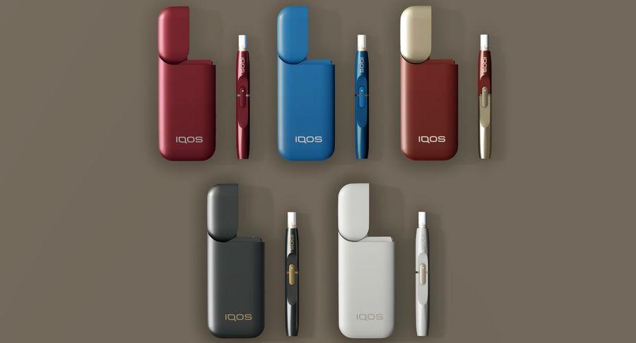 IQOS en cinco colores royalty-free modelo 3d - Preview no. 8