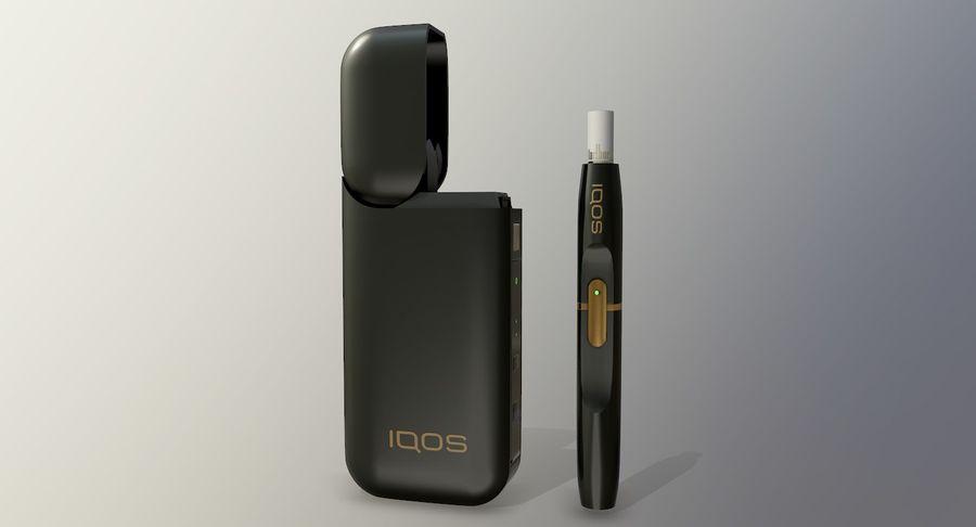 IQOS en cinco colores royalty-free modelo 3d - Preview no. 12
