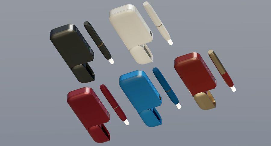 IQOS en cinco colores royalty-free modelo 3d - Preview no. 9