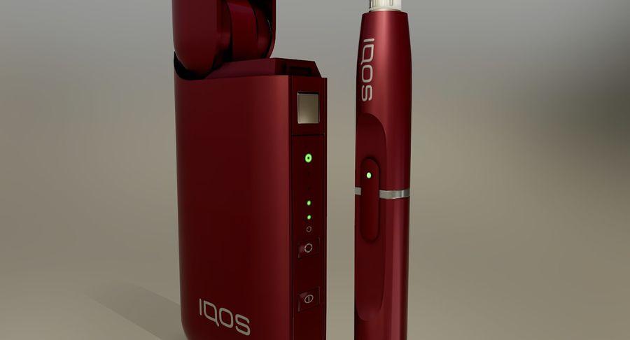 IQOS en cinco colores royalty-free modelo 3d - Preview no. 30