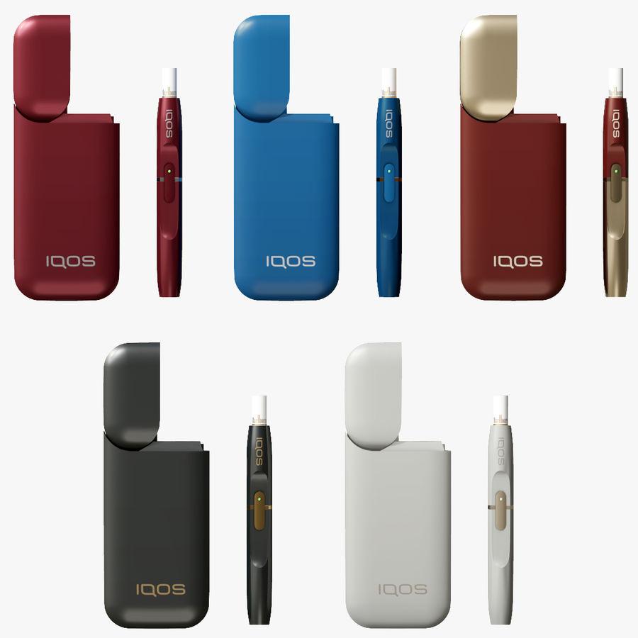 IQOS en cinco colores royalty-free modelo 3d - Preview no. 1