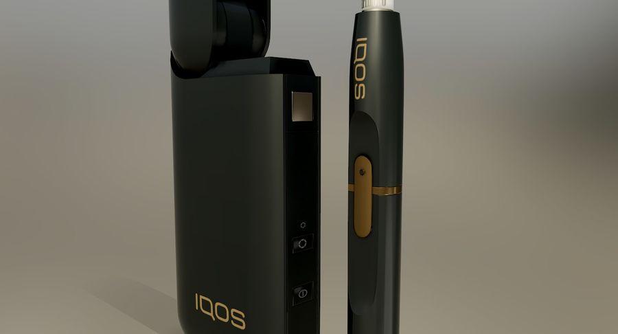 IQOS en cinco colores royalty-free modelo 3d - Preview no. 17