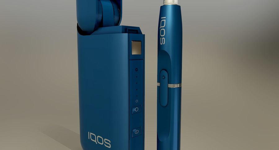 IQOS en cinco colores royalty-free modelo 3d - Preview no. 24