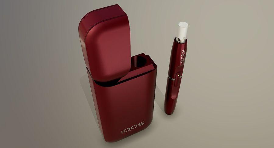 IQOS en cinco colores royalty-free modelo 3d - Preview no. 27