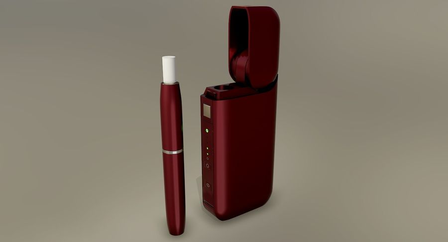 IQOS en cinco colores royalty-free modelo 3d - Preview no. 29