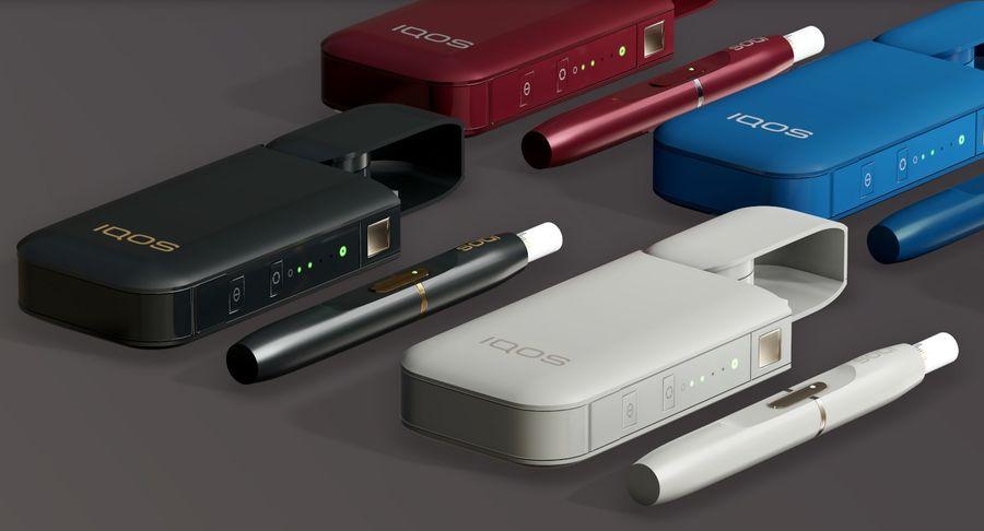IQOS en cinco colores royalty-free modelo 3d - Preview no. 6
