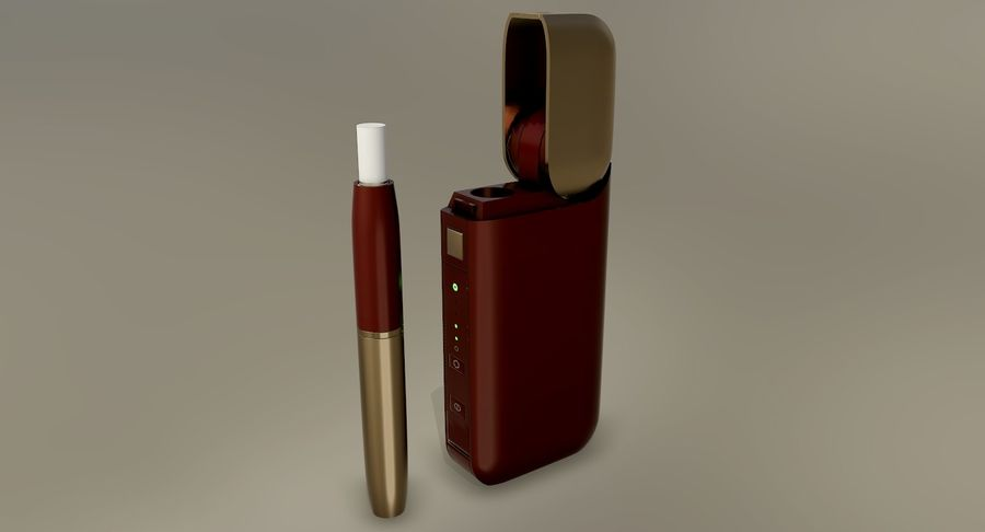 IQOS en cinco colores royalty-free modelo 3d - Preview no. 36