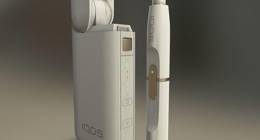 IQOS en cinco colores royalty-free modelo 3d - Preview no. 44