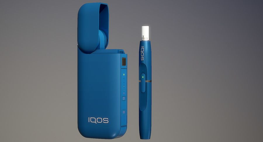 IQOS en cinco colores royalty-free modelo 3d - Preview no. 25