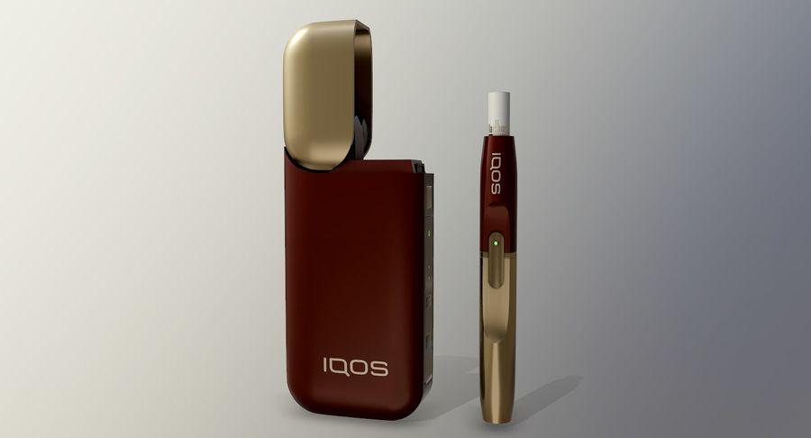 IQOS en cinco colores royalty-free modelo 3d - Preview no. 31