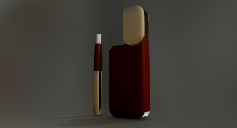 IQOS en cinco colores royalty-free modelo 3d - Preview no. 35