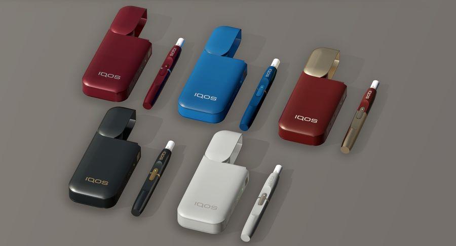 IQOS en cinco colores royalty-free modelo 3d - Preview no. 3