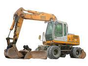 Excavatrice photoréaliste 3d model