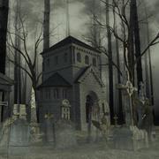 Graveyard 3d model