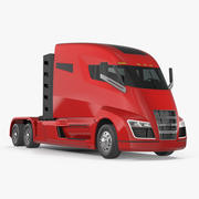 Nikola One Electric Truck Simple Interior 3d model