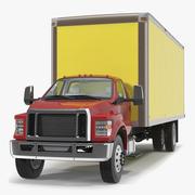 Box Truck Generic Simple Interior 3d model