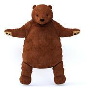 Pluszowa zabawka niedźwiedź brunatny 3d model