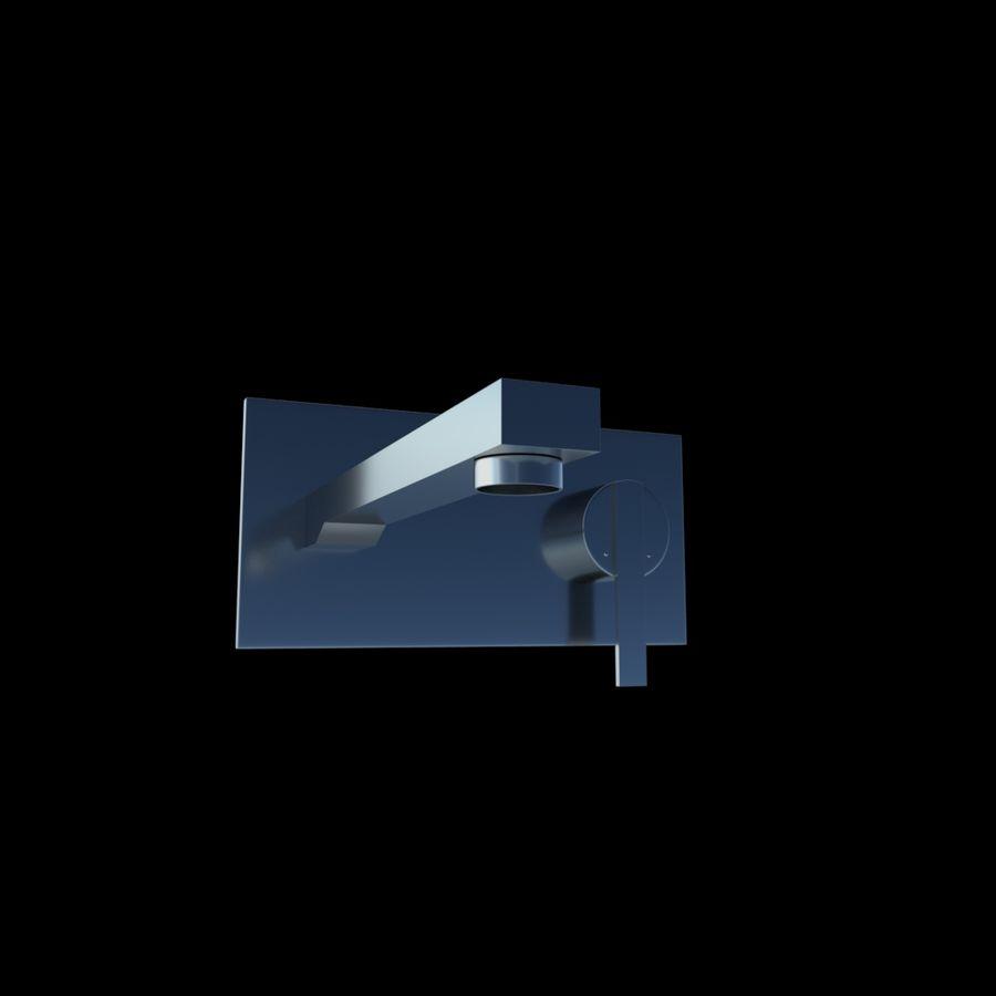 FAUCET Misturador para lavatório com alavanca simples FAUCET royalty-free 3d model - Preview no. 2