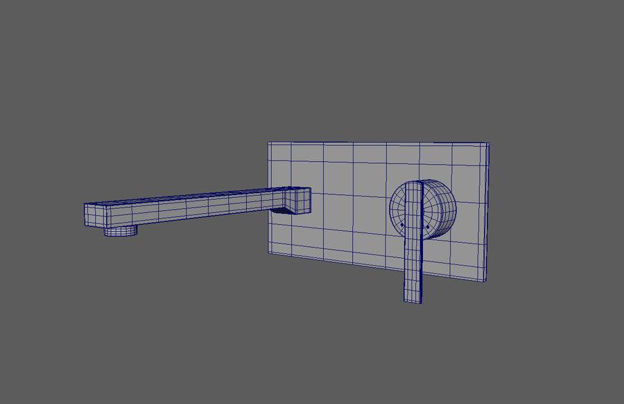 FAUCET Misturador para lavatório com alavanca simples FAUCET royalty-free 3d model - Preview no. 5