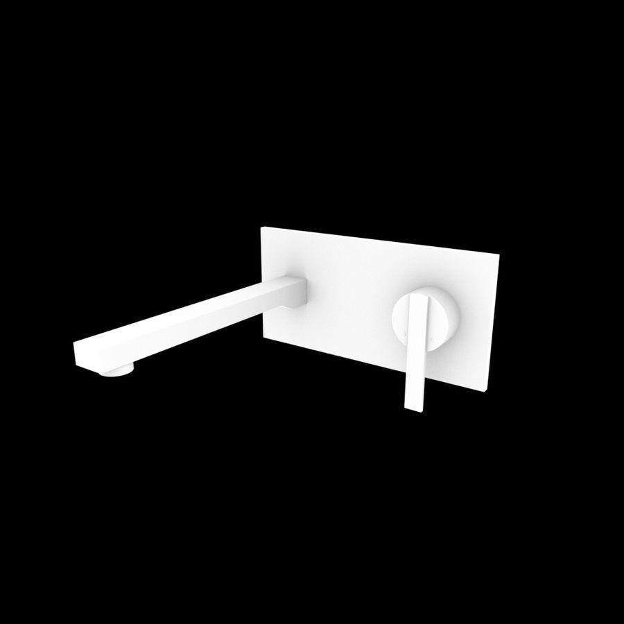 FAUCET Misturador para lavatório com alavanca simples FAUCET royalty-free 3d model - Preview no. 4