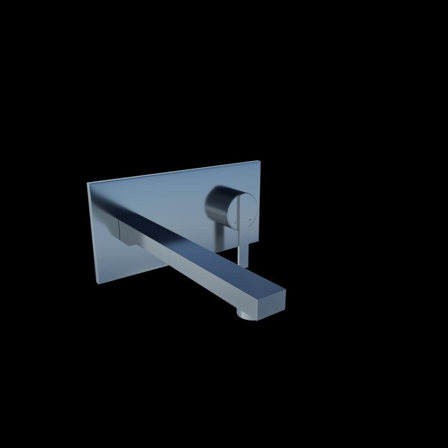 FAUCET Misturador para lavatório com alavanca simples FAUCET royalty-free 3d model - Preview no. 3