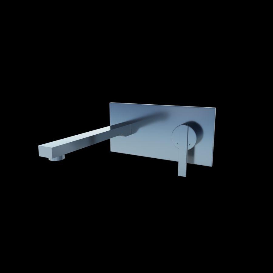 FAUCET Misturador para lavatório com alavanca simples FAUCET royalty-free 3d model - Preview no. 1