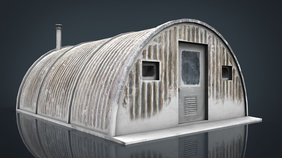 Artic Shelter royalty-free 3d model - Preview no. 1