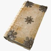 Starożytna Księga 3d model