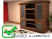 Rustic Hutch / Cabinet / Cupboard / Bookcase / Entertainment Center 3d model