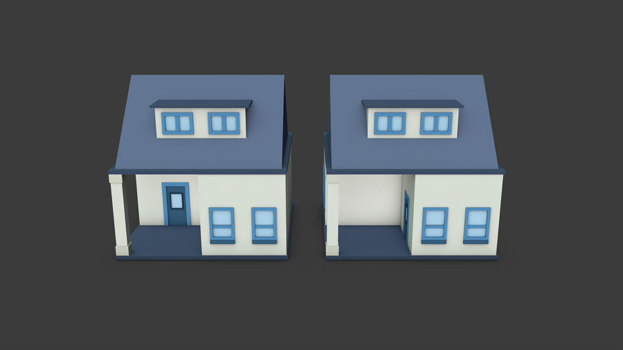 模块化建筑-ISOLAND royalty-free 3d model - Preview no. 7