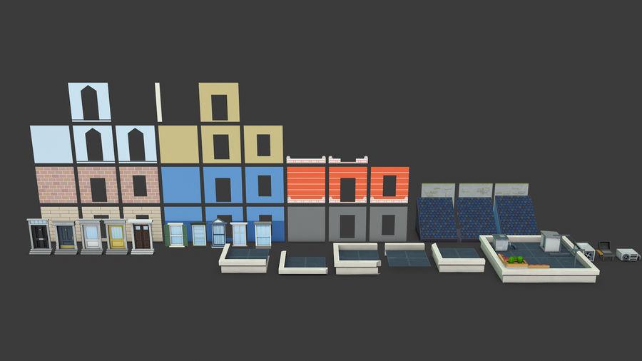 模块化建筑-ISOLAND royalty-free 3d model - Preview no. 5