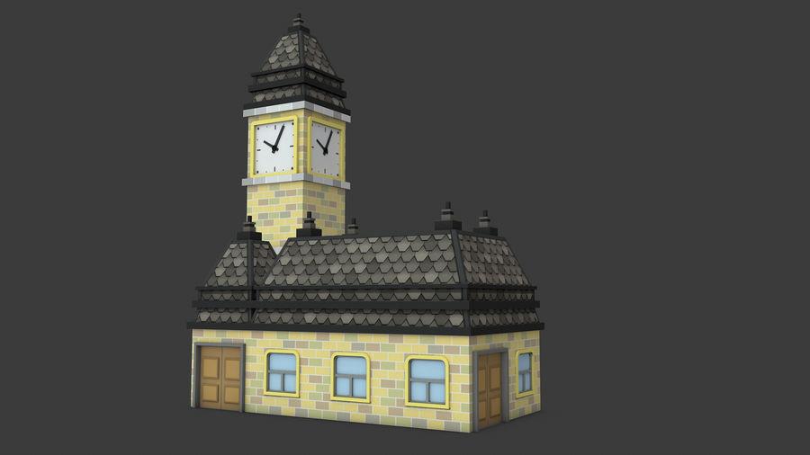 模块化建筑-ISOLAND royalty-free 3d model - Preview no. 9