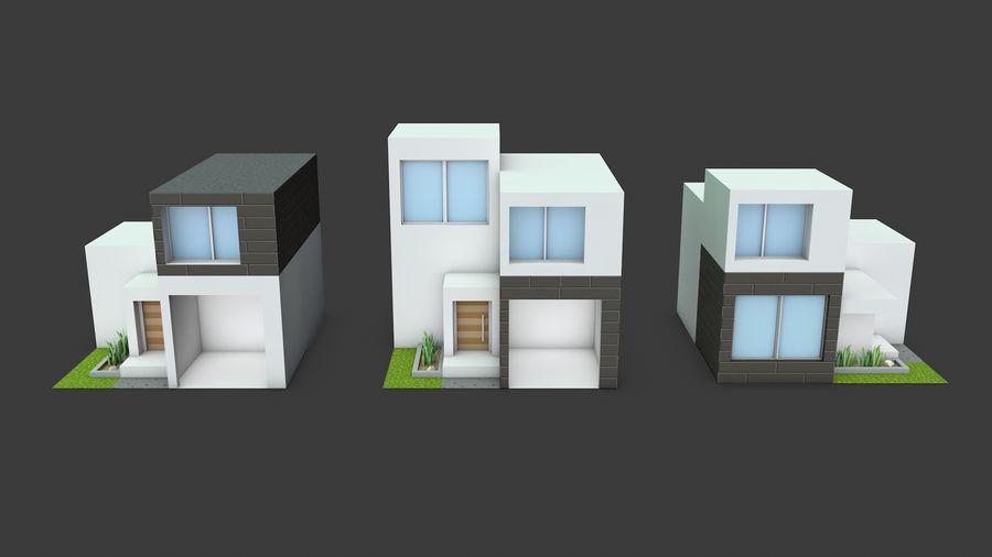 模块化建筑-ISOLAND royalty-free 3d model - Preview no. 6