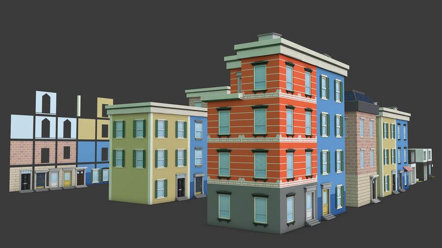 模块化建筑-ISOLAND royalty-free 3d model - Preview no. 2